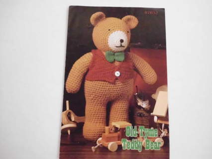 Free Vintage Old Tyme Teddy Bear Crochet Pattern Knitting