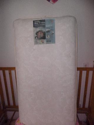Free Simmons Kids Sleep N More Baby And Toddler 2 In 1 Dual Crib Mattress
