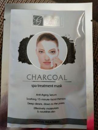 Charcoal Spa treatment mask.