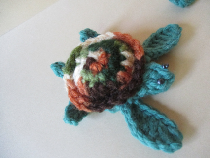 Sea Turtle -New Crocheted by Me