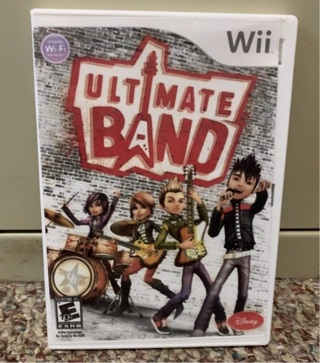 Ultimate Band (Nintendo Wii, 2008) Game Only. Tested.