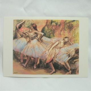Edgar Degas Dancers 1897-1901 pastel