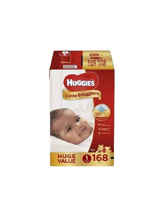 Huggies Little Snugglers size 1 168 count