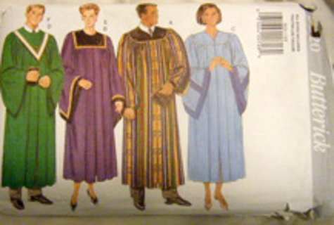 Free: Graduation Gown or Church Choir pattern - Sewing - Listia.com ...