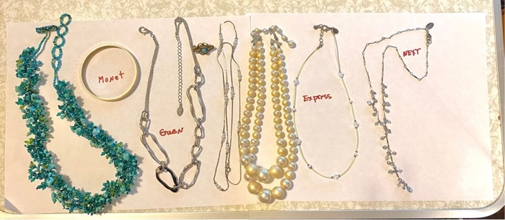 Pre owned Jewelry Lot , some signed