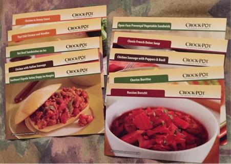 Lot of 10 crock pot recipes