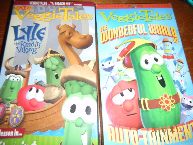 Veggietales Lyle The Kindly Viking Dvd Ebay