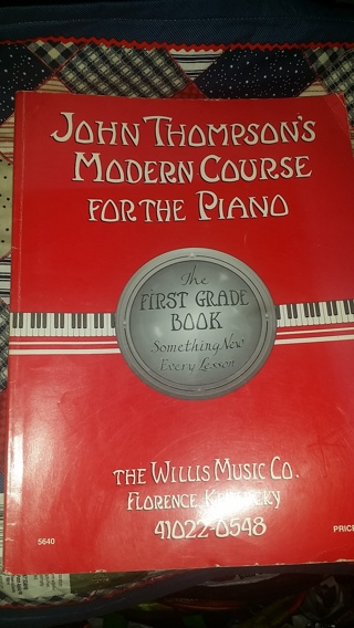 Learn Piano With This Very Cool Book / Free Shipping