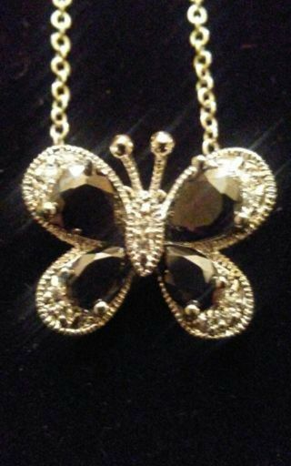 High-end Costume Butterfly Necklace -standard 18 inch