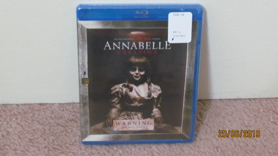 Annabelle Creation Blu-Ray, NEW in Package