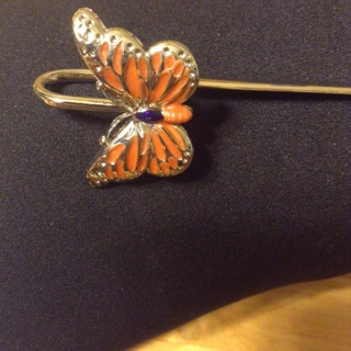 Beautiful butterfly book marker!!