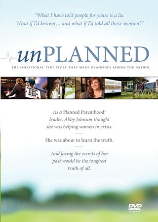 """Unplanned"" DVD"