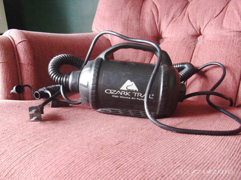 Free Ozark Trail Plug In High Volume Air Pump Other