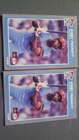 Free Kirby Puckett Rookie Cards Sports Trading Cards
