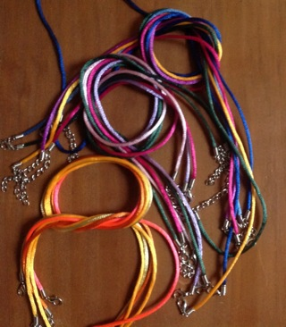 round Satin Necklace Cords