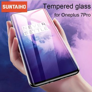 Suntaiho Protective Glass For Oneplus 7 Pro Tempered Glass Screen Protector Film For Oneplus 7 6 5
