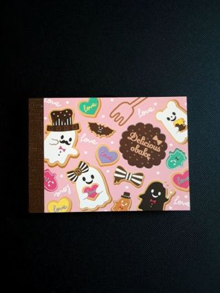 "Q-Lia ""Delicious O'Bake"" Mini-Memo Pad ☆Kawaii Bonus☆ *Only One, Available!!*"