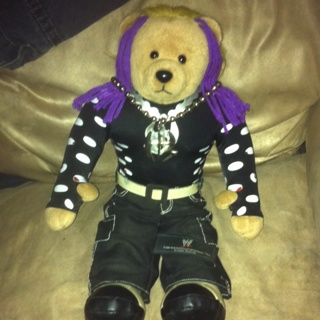 Free wwe tna superstar jeff hardy teddy bear hardy boyz unisex wwe tna superstar jeff hardy teddy bear hardy boyz unisex necklace free aloadofball Image collections