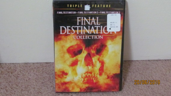 Final Destination Collection DVD, NEW in Package