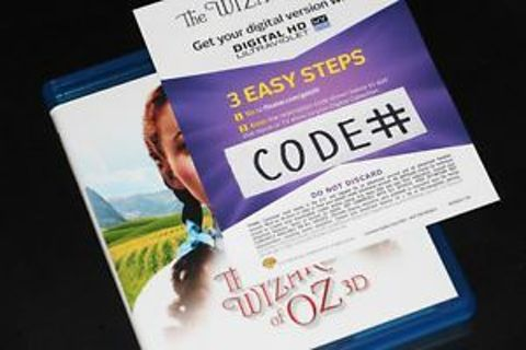 The wizard of oz digital hg ultraviolet code