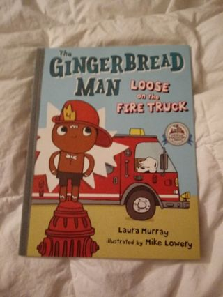 New The Gingerbread Man Loose on the Fire Truck