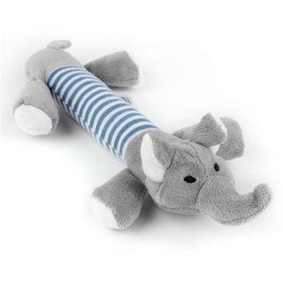 Fashion Pet Puppy Chew Plush Pig Elephant Duck Ball For Dog Fun Toys Elephant