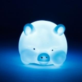 Color Changing LED Pig Shape Night Light