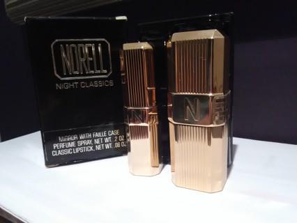 Norell Night Classics Perfume And Lipstick
