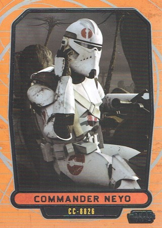 Star Wars Galactic Files Topps 2013 Collectible Card Commander Neyo #456
