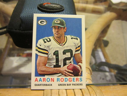 "***2013 TOPPS "" 59 MINI "" FOOTBALL CARD***AARON RODGERS***GREEN BAY PACKERS***"