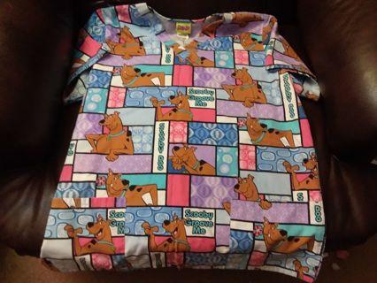 Scooby Scrub Top!!
