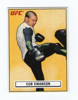 UFC Cub Swanson Card