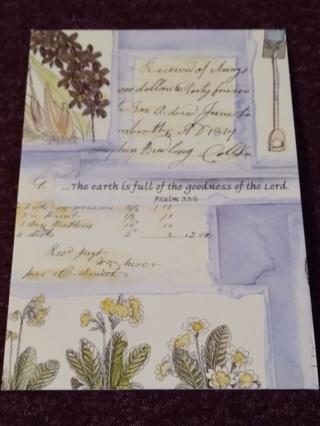 Inspirational Notecards - A Lady's Garden