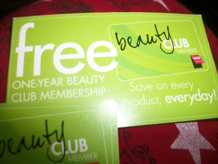 Coupon for FREE Sally Beauty Supply Savings Card