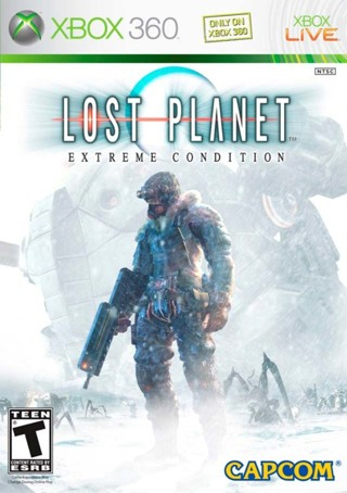 lost planet - extreme condition xbox 360