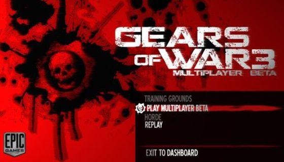 Gears of War 3 Beta Code!!