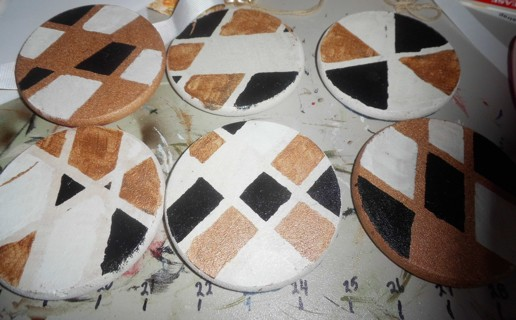 New Cork Coasters - 4 inches across
