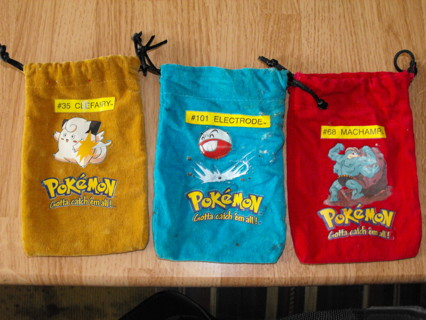 Pokemon Collector's Marble Bag's