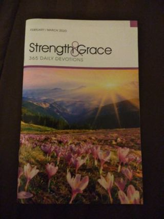 Strength and Grace 365 Daily Devotions-February/March 2020