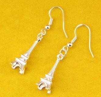 [GIN FOR FREE SHIPPING] 1Pair Lady Women Eiffel Tower Earrings