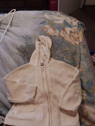 Baby girl sweater hoodeie by Arizona size 24m
