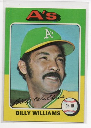 1975 Topps Billy Williams #545