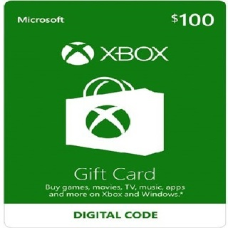 Free: $100 Xbox Gift Card Or PlayStation Store Prepaid Gift
