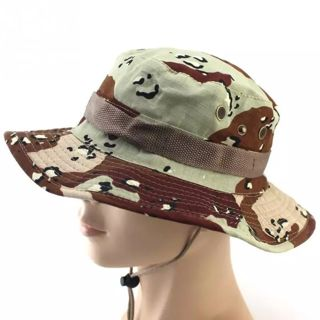 Tactical Bucket Boonie Hats Airsoft Sniper Camouflage Nepalese Cap Military Army American