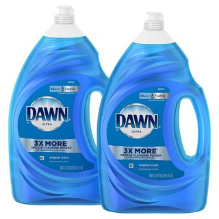 ✔ ~ Dawn Ultra Dishwashing Liquid Detergent 2 count, 56 oz. Each ~ ✔