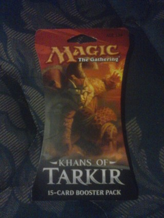 New Khans of Tarkir Card Pack MTG
