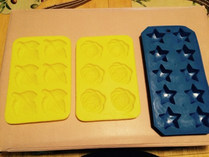 Soap molds or tart molds silicone