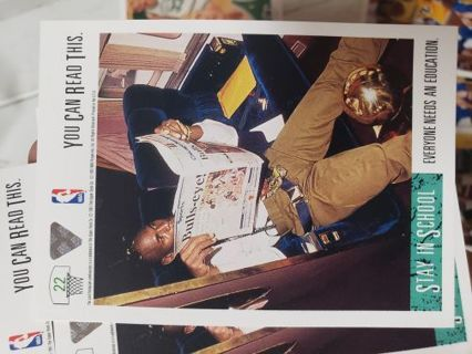 1991-92 Upper Deck Michael Jordan Basketball card, Chicago Bulls