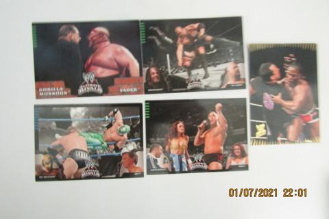 5 - 2008 WWE ULTIMATE IVALS WRESTLING CARDS