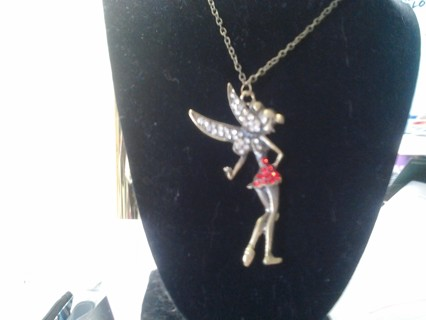 Awesome Tinkerbell Necklace BNWT